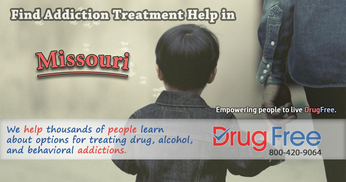 Missouri drug addiction help